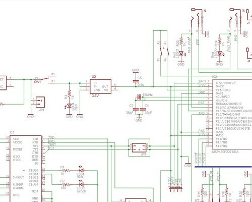 electronic schematic circuit by MLS automotive inc